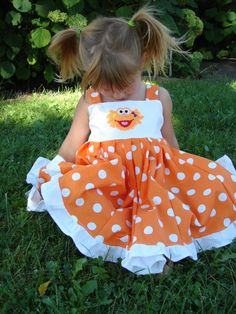 custom boutique twirl dress made with zoe by carriecreations, $35.00