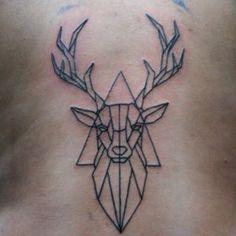 geometric deer tattoo에 대한 이미지 검색결과