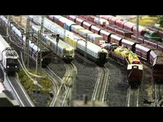 Best model train layout - A day in Japanese trains at the Railway Museum Saitama - YouTube