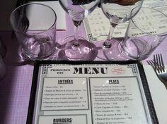 menu (la maison mère, paris)