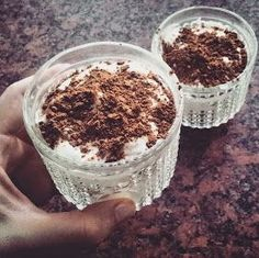 FITKRISS: * Tvarohové tiramisu Tiramisu, Junk Food, Healthy Lifestyle, Healthy Living, Cheesecake, Good Food, Goodies, Food And Drink, Lose Weight