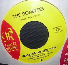 "the ronettes, ""walking in the sand"""