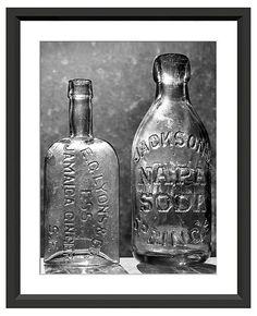 Vintage Bottles I | The Shared Collection | One Kings Lane