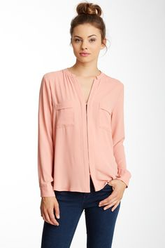 Pretty Blush Colored Blouse