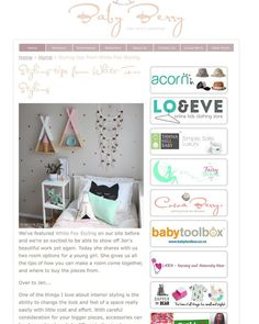 Eeep! So excited to be featured over on Baby Berry today showing two options for the same little girl's room space. I be so much fun playing around with different looks so it's been wonderful to have the opportunity to write about it and share. Pop on over to @babyberryblog to have a read I'd love to know what you think! X #whitefoxstyling