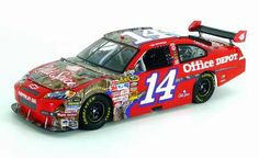 Tony Stewart Car Collection | 2009 Tony Stewart 14 Old Spice Realtree Camo 1 24 Scale Diecast Car by ...
