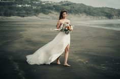 feel the momrnt of love while you walk on the sand thinking of your ipcoming life 😍😍😍 wedding On Your Wedding Day, Perfect Wedding, Destination Wedding, Wedding Planning, Best Wedding Photographers, Industrial Wedding, Auckland, Real Weddings, Wedding Photos