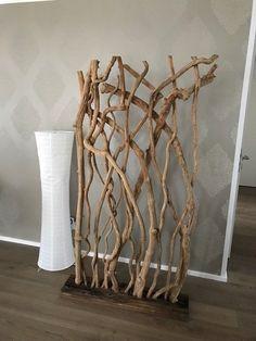 Deko Raumteiler Holz auf Schiffsholz braun neuwertig 170x100 | Büro & Schreibwaren, Büromöbel, Schränke & Regale | eBay!