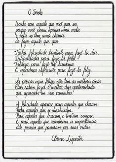 Luiza's Blog: O SONHO