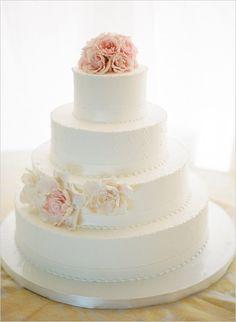 Simple Wedding Cakes | POPSUGAR Food