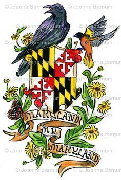 Maryland My Maryland fabric