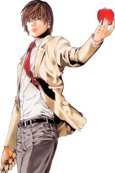 Render Death Note Raito Kira Light - Death Note - Anime and Manga ...