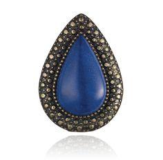 SAMANTHA WILLS - BOHEMIAN BARDOT RING - BLUE