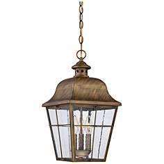 "Quoizel Millhouse 10"" Wide Veneto Outdoor Hanging Light"