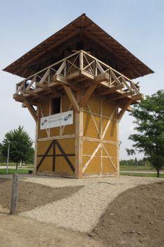 De Romeinse wachttoren op de Hoge Woerd, De Meern Utrecht