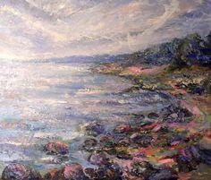 Seascape Art, Nature, Painting, Naturaleza, Painting Art, Paintings, Nature Illustration, Painted Canvas, Off Grid