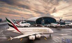 """طيران الإمارات تشغل """" إيرباص ايه 380 """"على جميع رحلاتها إلى بيرمنغهام وبكين وشنغهاي: أعلنت طيران الإمارات عزمها استبدال طائرات البوينج 777…"""