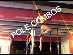 Pole combos. She's got a ton of strength & flexibility.