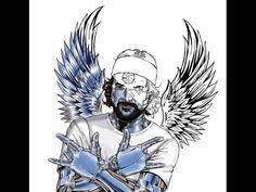Homenaje Fan Art Pau Donés  by: @joyeishak_art Cyber, Fan Art, Instagram, Fictional Characters, Make Art, Portraits, Animales, Fantasy Characters