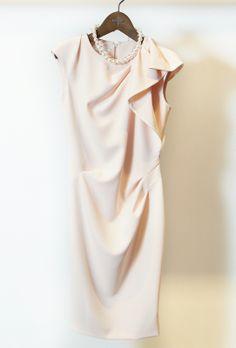 여성스러운 분위기의 미샤 원피스. ladyish dress. @현대백화점