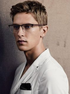 homme–models:  Mathias Lauridsen for Giorgio Armani SS15