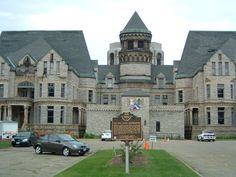 Mansfield Ohio - The Mansfield Reformatory (Shawshank Redemption was filmed here)