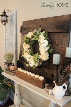 Ideas On How To Add Fall Decor To Your Mantel
