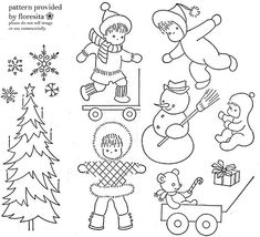 Some fantastic vintage embroidery patterns from feeling stitchy