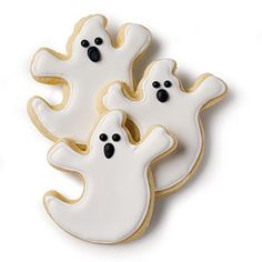 Made by Southern Hands: Trick or Treat | Ghost Cookies | SouthernLiving.com