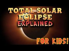 A quick science lesson explaining the total solar eclipse for kids. With the upcoming total solar eclipse around the corner, kids are very curious about it! 1st Grade Science, Kindergarten Science, Elementary Science, Science Classroom, Teaching Science, Science For Kids, Earth Science, Science Activities, Elementary Teaching