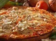 Pizza de Liquidificador