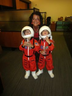 2b0f0d4cb28 Whispers and Shouts: How to Make Space Shuttle and Astronaut Costumes Kids  Astronaut Costume,
