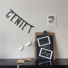 #Wordbanner #tip: Geniet - Buy it at www.vanmariel.nl - € 11,95
