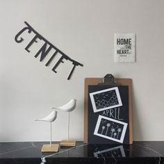 #Wordbanner #tip: Geniet - Buy it at www.vanmariel.nl - € 11,95