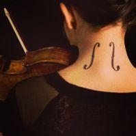 #Music #Violin #Tattoo
