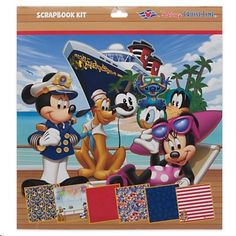 Disney Cruise Line Scrapbooking Kit -- You can get additional details at the image link.Note:It is affiliate link to Amazon.