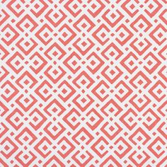 """Lattice Fabric – Coral 