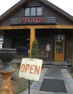 Chaps Coffee House in Spokane, Washington- Love the homemade desserts and baked goods!
