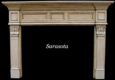 The Sarasota Fireplace Mantel | Custom Fireplace Surrounds | The Mantel Shoppe