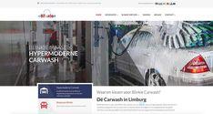 Totaalproject voor wasstraat Blinkie: o.a. een responsive website, banners voor het serviceplein, flyers en virtuele tour fotografie...bekijk de hypermoderne wasstraat op www.blinkie.be Car Wash, Desktop Screenshot, Tours, Website