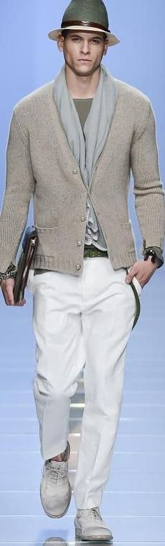 Cool Men's Summer Style ERMANNO SCERVINO Menswear Spring... Check more at http://24myshop.tk/my-desires/mens-summer-style-ermanno-scervino-menswear-spring/