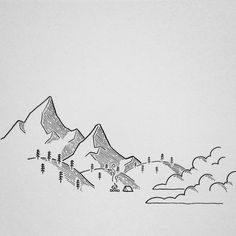 Working on this illustration for @ssarahlee__. She liked the ones I did for @cascadecole, but wanted a tent instead! #drawing #penandink #doodle #doodling #art #illustree #illustration #camping #campvibes #homeiswhereyoupitchit #pnw #upperleftusa #mountains #fog #design #graphicdesign #pnw #upperleftusa #oregon #micron #draw