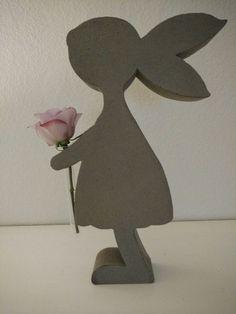 Weiteres - Beton Giessform - Hasenmädchen - 40 cm  - ein Designerstück von BIF-Hermes bei DaWanda