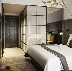 Bathroom suite or Walk in closet ideas for the bedroom - Pinned onto ★ #WebinfusionHome ★
