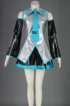 This Vocaloid Super Alloy Hatsune Miku Cosplay Costume is just an amazing package and perfect for your cosplay event. Hatsune Miku Costume, Vocaloid Cosplay, Anime Cosplay, Cosplay For Sale, Best Cosplay, Anime Costumes, Cosplay Costumes, Halloween Costumes, Amane Misa