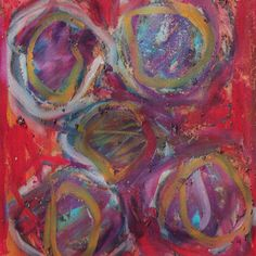 Spheres 5 Painting Print on Wrapped Canvas