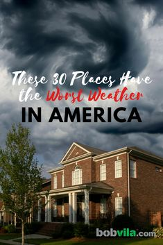 30 Places Have the Worst Weather in America These U. destinations have extreme weather. destinations have extreme weather. Weather Storm, Weather Cloud, Wild Weather, Oklahoma Tornado, Thunderstorms, Tornados, Travel Humor, U.s. States, Extreme Weather