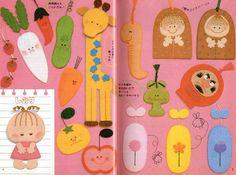 felt crafts | ... Japanese felt craft, pick the Japanese felt craft tutorial book below