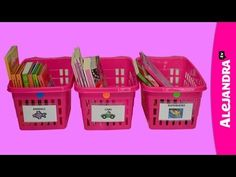 Organizing for Kids: How to Teach Kids Where Things Belong from http://www.alejandra.tv