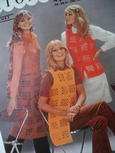 Vintage 1970s Crochet Pattern Women's by sewmuchfrippery on Etsy